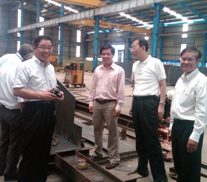 JFE (Japan) Company visited Nam Viet Factory